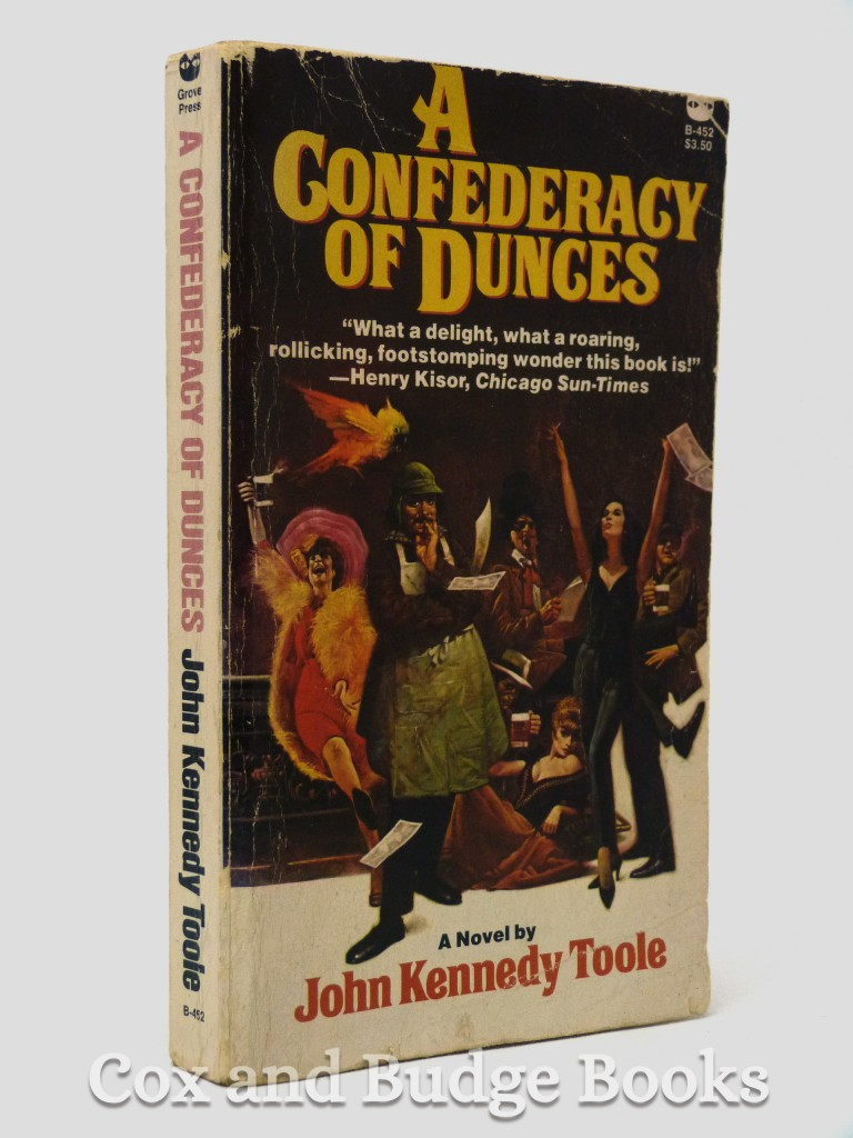 essays on a confederacy of dunces Write a 750-1000 word essay on a confederacy of dunces you are encouraged to offer your own insights, but you might consider some of these thematic questions: is the novel's antihero, ignatius j reilly, a sympathetic or unsympathetic figure – or a combination of the two.