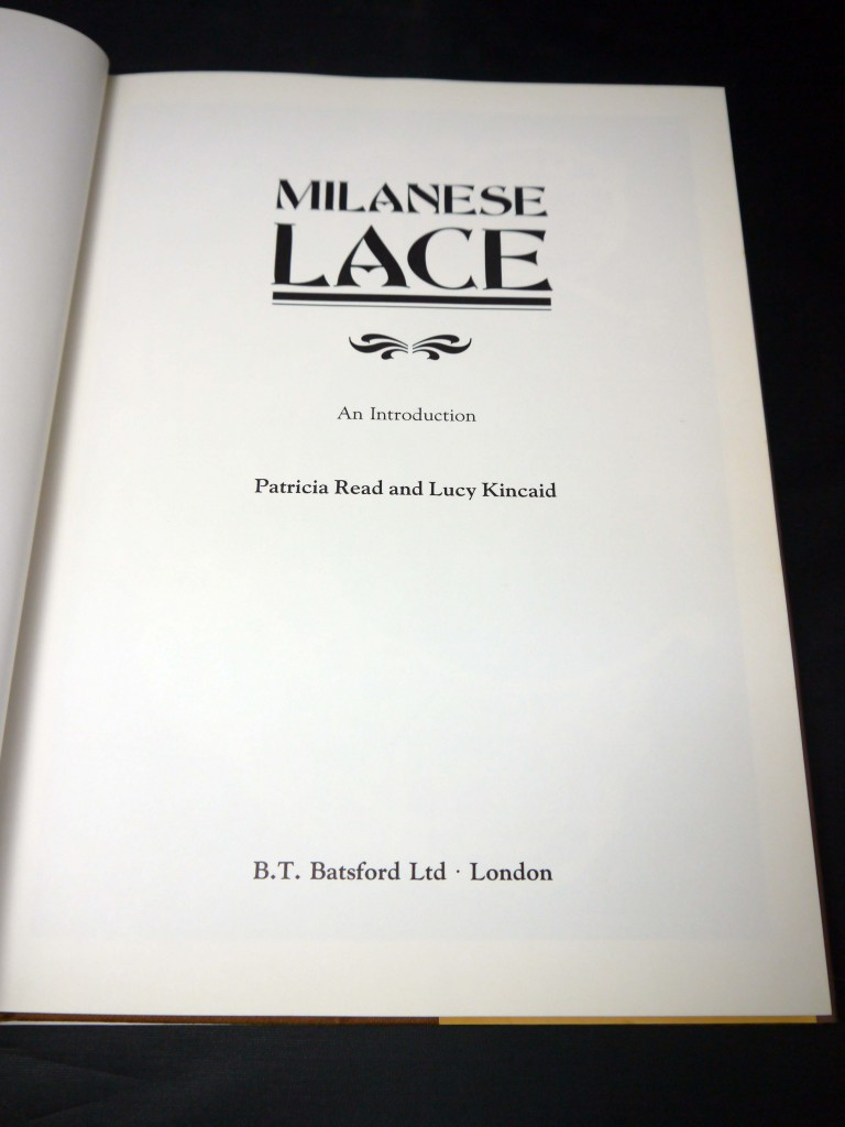 Milanese Lace, An Introduction