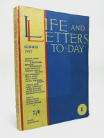 Life and Letters To-Day, Summer 1937
