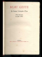 Beau Geste (Signed copy)