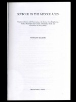 Suffolk in the Middle Ages (Signed copy)