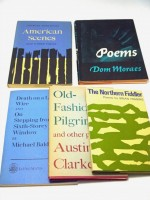 Nine 1960s poetry first editions