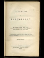 An Investigation of Homeopathy