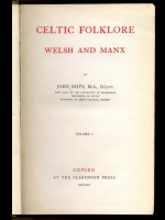 Celtic Folklore, Welsh and Manx (Signed copy)